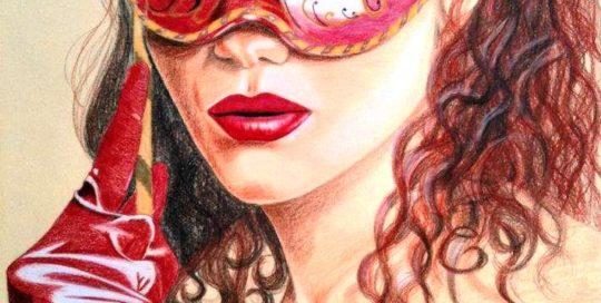 Anatomi Sanat Akademisi Moda Tasarım Kursu Pastel Boya Çalışması
