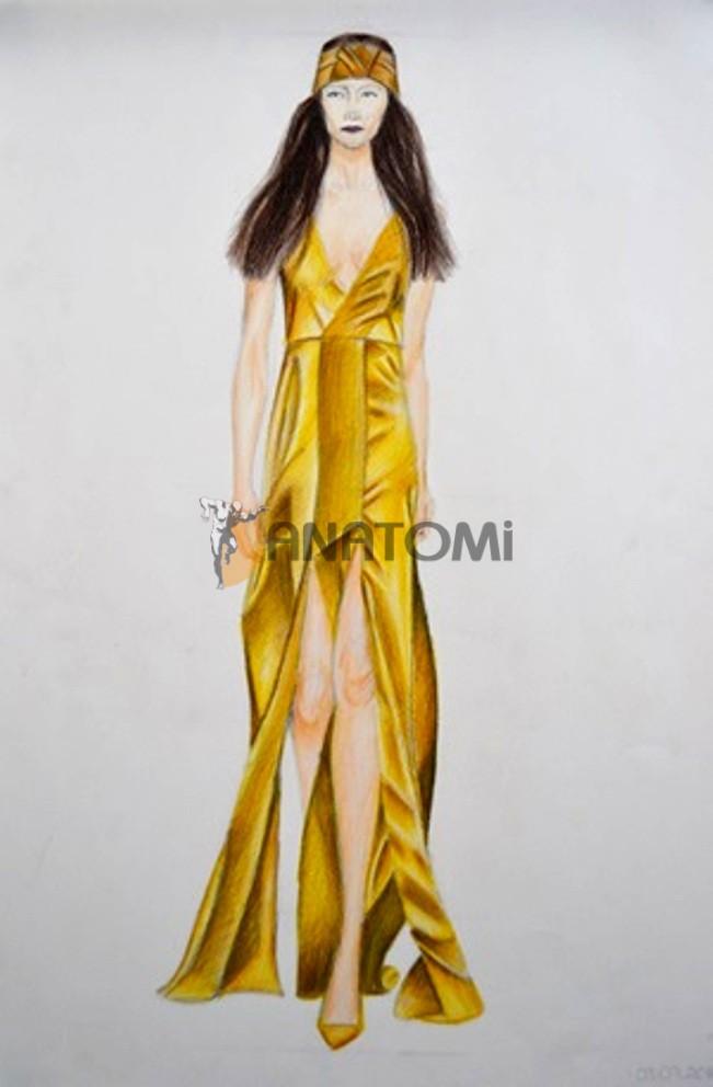 Moda Tasarım Resim Kursları