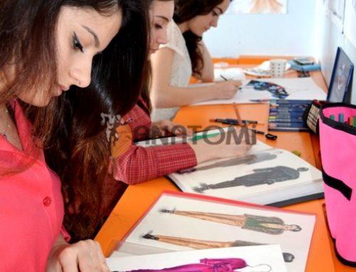 Güzel sanatlar yetenek sınavlarına hazırlık moda tasarım çalışmaları